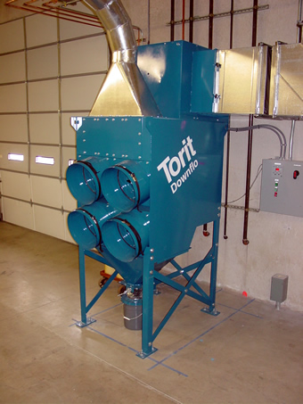 Torit toxic  smoke collector